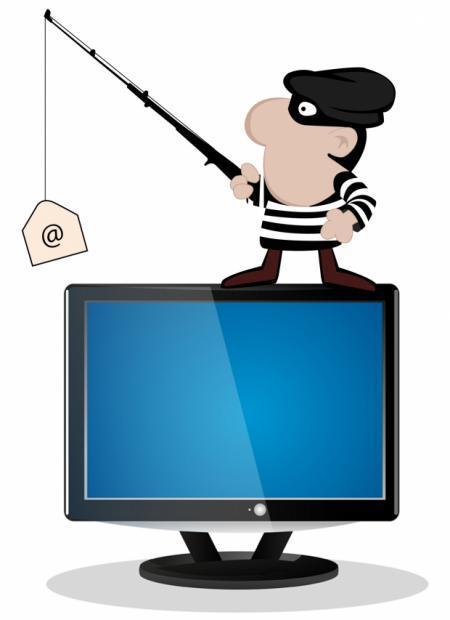 حملات phishing